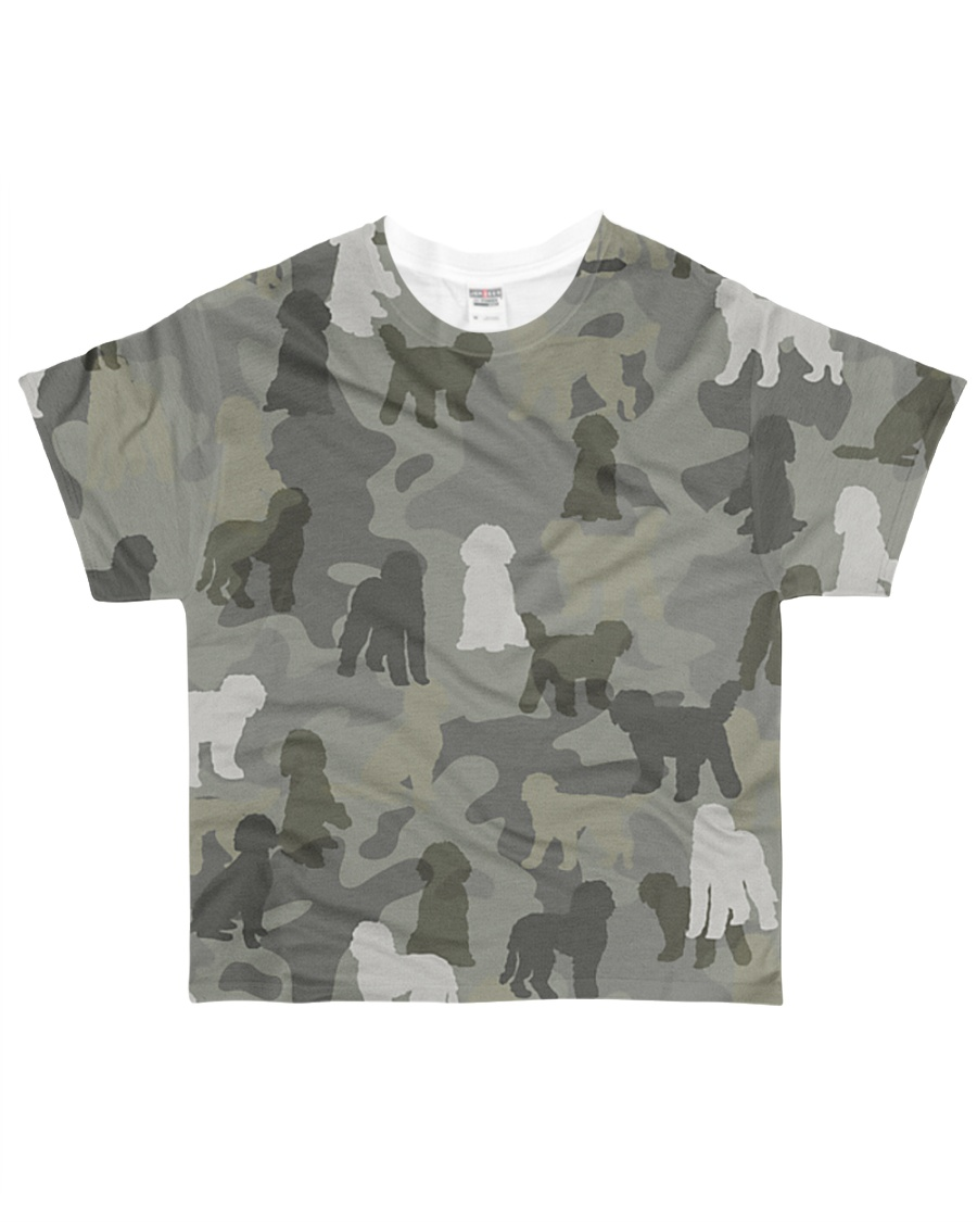 Labradoodle-camouflage All-over T-Shirt