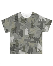 Labradoodle-camouflage All-over T-Shirt front
