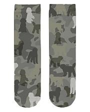 Labradoodle-camouflage Crew Length Socks thumbnail