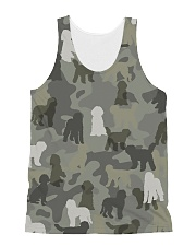 Labradoodle-camouflage All-over Unisex Tank thumbnail