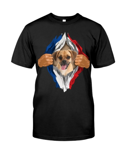 Puggle-Flag of France