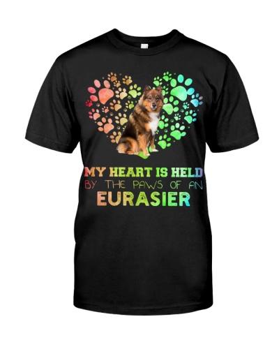 Eurasier Heart Paw