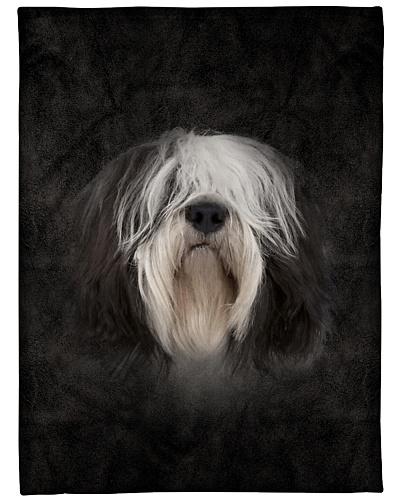 Polish Lowland Sheepdog Face 3D