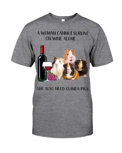 She Also Needs Guinea Pig