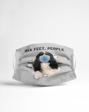 Cavalier King Charles Spaniel Six Feet People FM Cloth face mask aos-face-mask-lifestyle-22