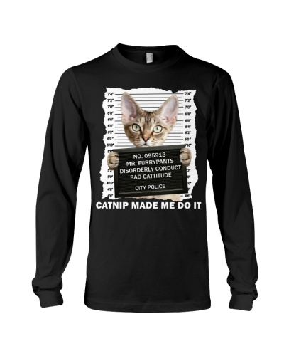Devon Rex Cat - Catnip