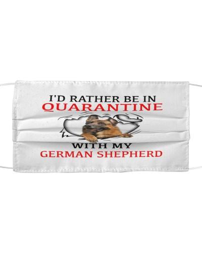 Quarantine With My German Shepherd Face