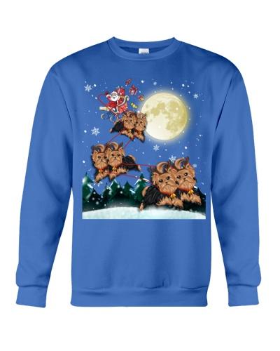 Yorkshire Terrier-Santa Claus