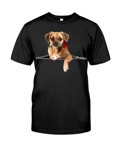 Puggle-Rose-Zipper