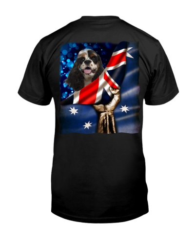 Flag of Australia-American Cocker Spaniel
