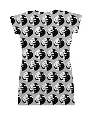 Cat - Yin Yang All-over Dress back