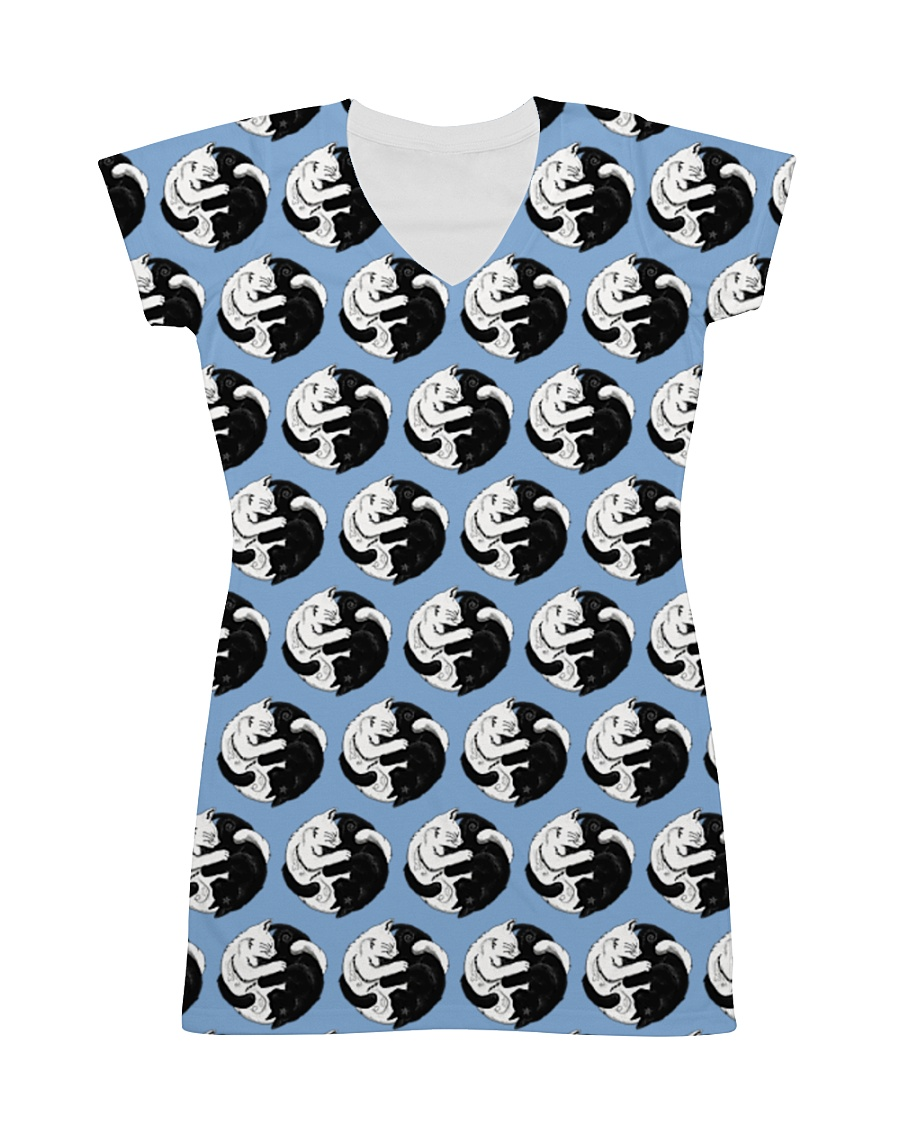 Cat - Yin Yang All-over Dress