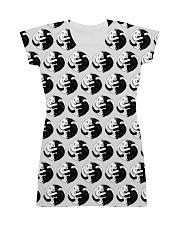 Cat - Yin Yang All-Over Dress tile