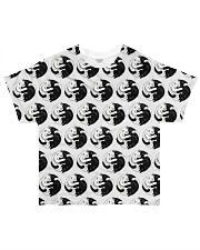 Cat - Yin Yang All-over T-Shirt thumbnail