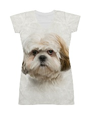 Shih Tzu-Face and Hair All-over Dress thumbnail