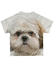 Shih Tzu-Face and Hair All-over T-Shirt back