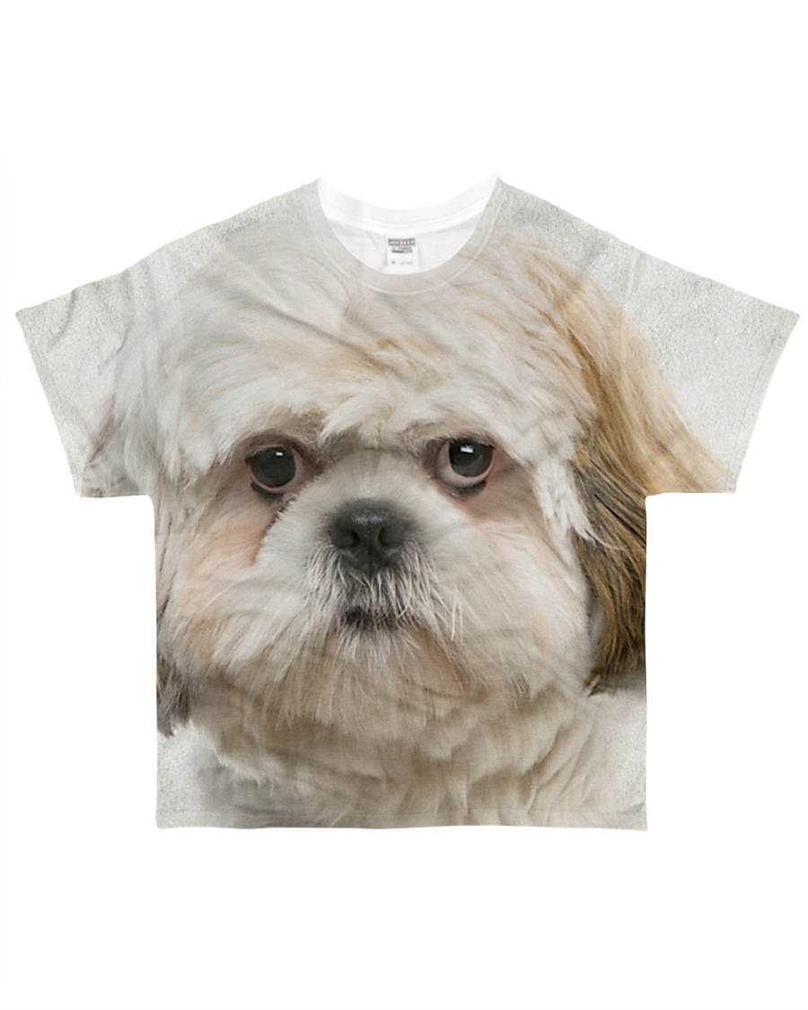 Shih Tzu-Face and Hair All-over T-Shirt