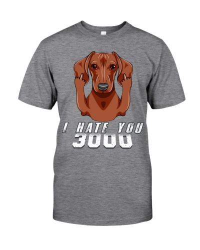 Dachshund - Hate You 3000