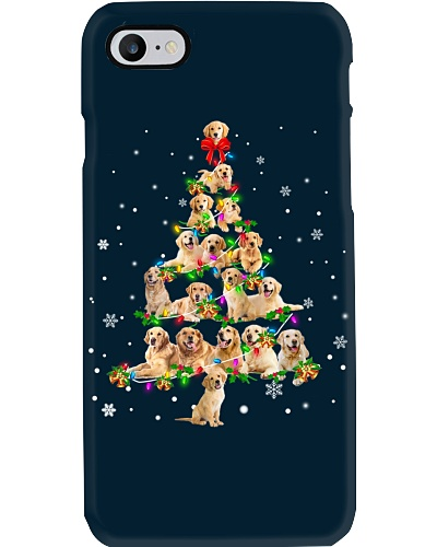 Golden Retriever - Christmas Tree