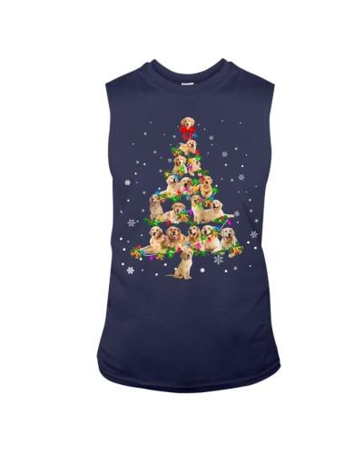 Golden Retriever - Christmas Tree