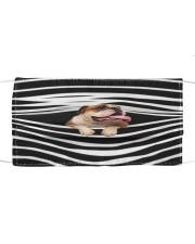 English Bulldog Stripes FM Cloth face mask front