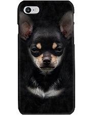 Chihuahua-Face and Hair Phone Case thumbnail