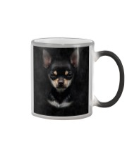Chihuahua-Face and Hair Color Changing Mug tile