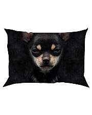 Chihuahua-Face and Hair Rectangular Pillowcase thumbnail