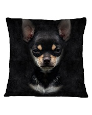 Chihuahua-Face and Hair Square Pillowcase tile