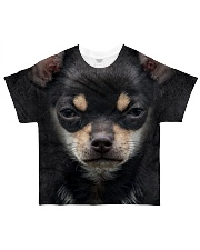Chihuahua-Face and Hair All-over T-Shirt front