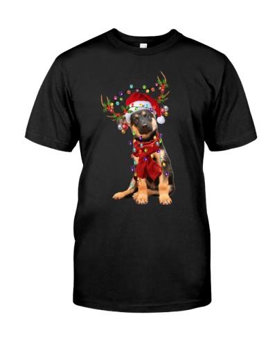 German Shepherd-Reindeer
