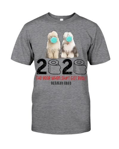 Old English Sheepdog 2020 Quarantined