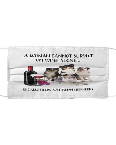 She Also Needs Australian Shepherds Face