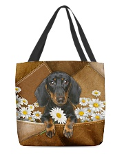 Dachshund-AOT-CS1149 All-over Tote back
