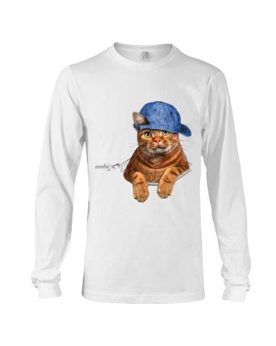 Cat With Hat-Zipper