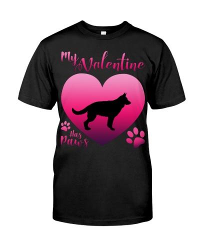 German Shepherd-My Valentine Has Paws