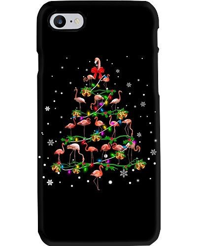 Flamingo-Christmas Tree