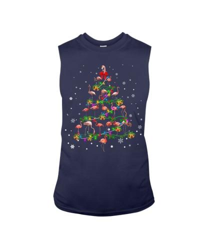 Flamingo-Christmas Tree