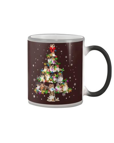 Shetland Sheepdog - Christmas Tree