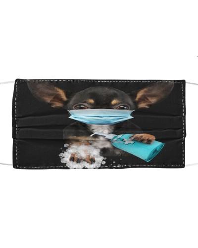Chihuahua-Face Mask-Wash