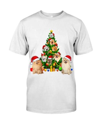 Pomeranian-Christmas Tree-1