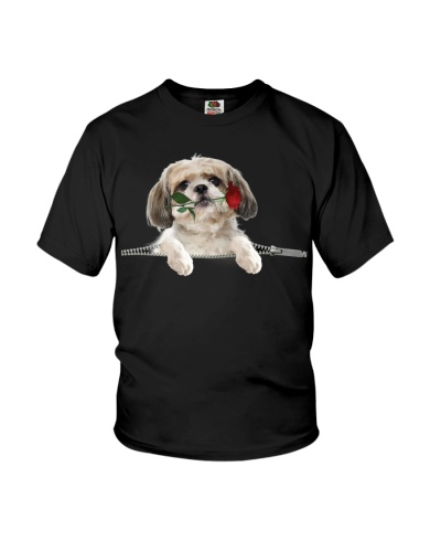 Shih Tzu Rose Face