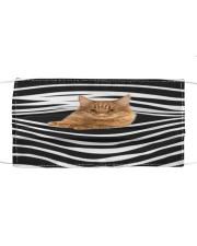Manx Cat Stripes FM Cloth face mask front