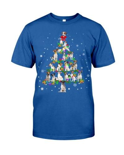 Jack Russell Terrier- Christmas Tree