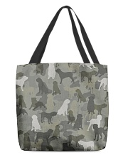 English Mastiff-camouflage All-over Tote thumbnail