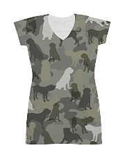 English Mastiff-camouflage All-over Dress thumbnail