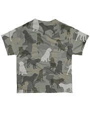 English Mastiff-camouflage All-over T-Shirt back