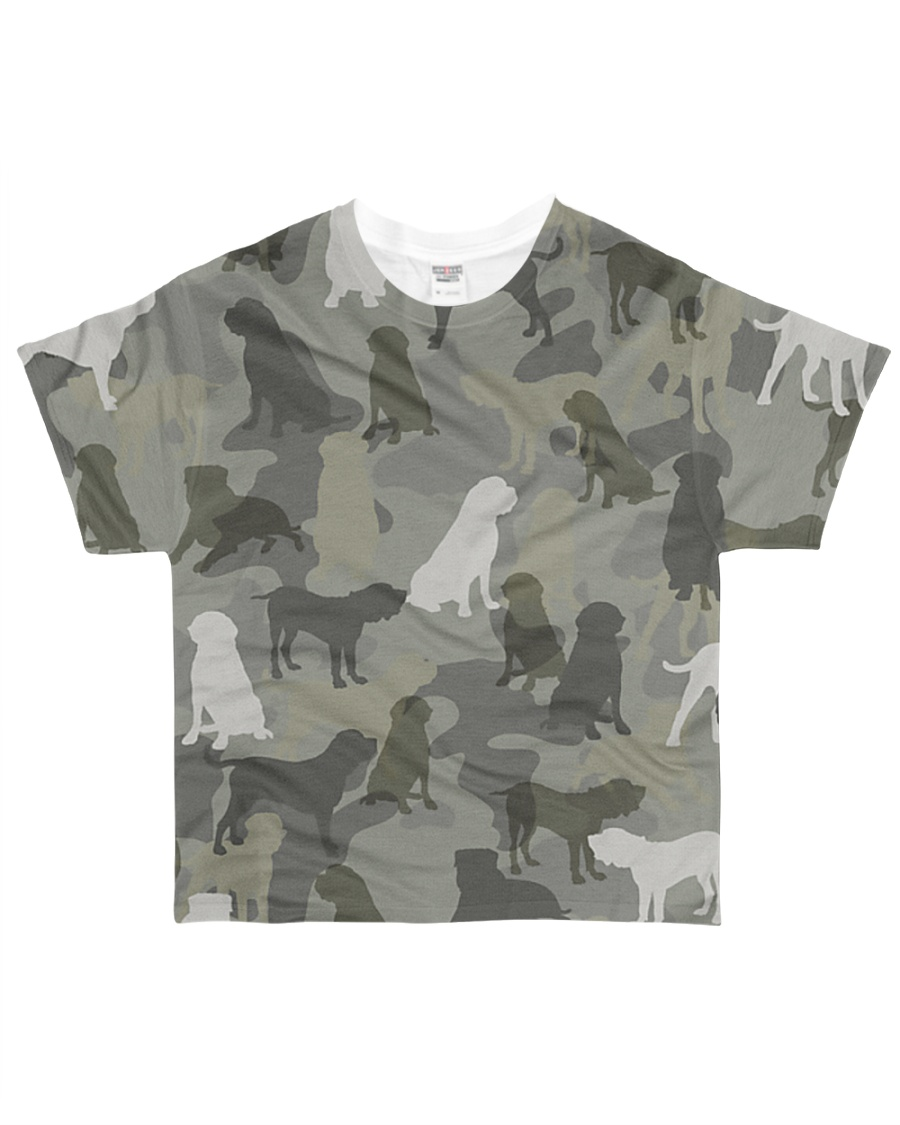 English Mastiff-camouflage All-over T-Shirt
