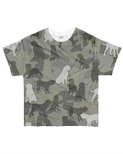 English Mastiff-camouflage All-over T-Shirt front