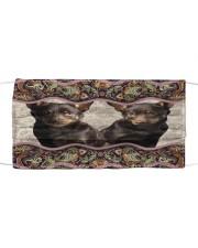 Australian Kelpie Boho Pattern FM Cloth face mask front